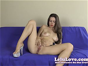 first-timer striptease with lots of feet and toes closeups