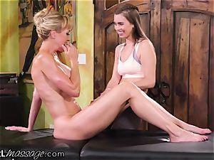 AllGirlMassage Brandi enjoy trained babe How two lick