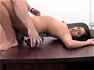 super-hot anal internal cumshot at porno audition