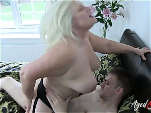 AgedLovE hardcore with scorching Mature Lacey Starr