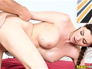 Angelina Diamanti showered in cum