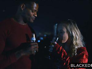 BLACKEDRAW boyfriend with hotwife desire shares his ash-blonde gf