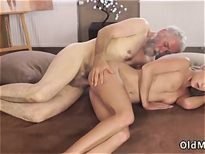 Bearded old boy blond and nymph Sexual geography