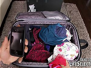 Mismatched luggage leads to gorgeous surprise...