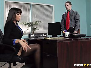 Mercedes Carrera screws her daughters-in-law bf at work