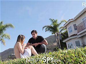 NannySpy baby sitter Kristen Scott caught jerking