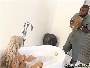 hotwife boyfriend observes Nina Elle gets boned by bbc