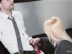 secretary Lola Taylor drills her partner after hours