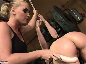 Kathia Nobili fuck stick pummel the bum of her mate