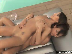 two damsels One Nuru massage