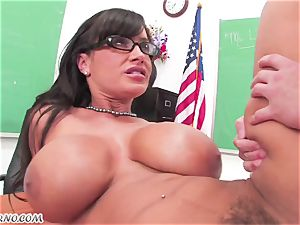 Lisa Ann - private lessons on fuckfest education after class