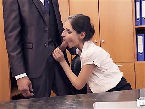donks BUERO - German stunner fucks manager in office affair