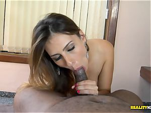 Bianca Mello nailed firm in her brazilian poon