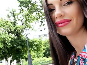 The yummy sneer of Sasha Rose does it all