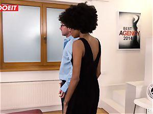 LETSDOEIT - black teenage pops multiple Times At audition