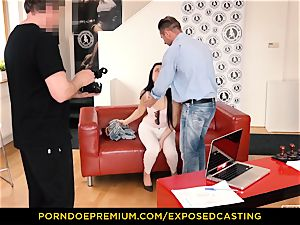 unveiled casting - Taissia Shanti ravaged hard in her backside