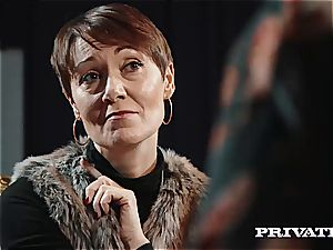 Private.com - Ella Hughes, cum in Her hairy honeypot