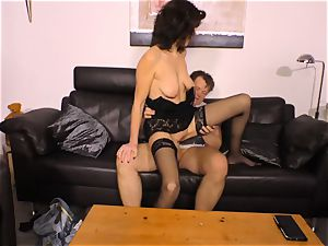 hardcore OMAS - xxx humping with German mature nymph