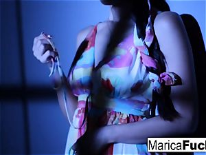 japanese sex industry star Marica gets nude