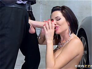 ultra-kinky mature Veronica Avluv leaned over and banged