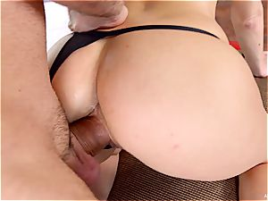 Russian hoe enjoys all kinds of buttfuck games