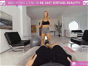 VR PORN-Nicole Aniston Gets pounded rock hard and deep throats