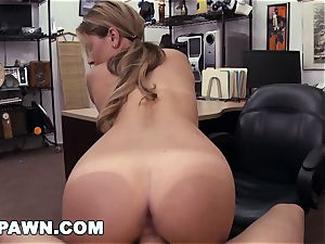 hard-core PAWN - Waitress Desperate For Cash Sells Her culo