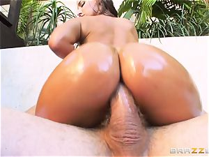 Amirah Adara getting her cock-squeezing little arse pummeled