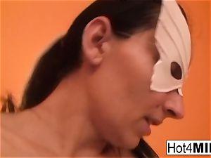 mummy Melinda gets hard buttfuck