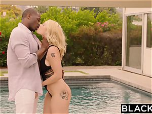 BLACKED curvaceous blondie Cheats on boyfriend With bbc
