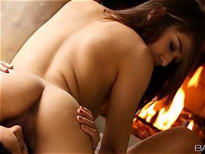sexy lezzies Sara Luvv and Adriana Luna