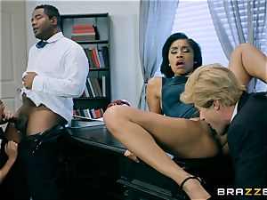 Charles Dera and Cherie Deville four way