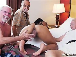 light-haired mom gets young spunk-pump hard-core Staycation with a mexican beauty
