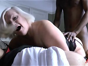 AgedLovE Lacey Starr multiracial three way